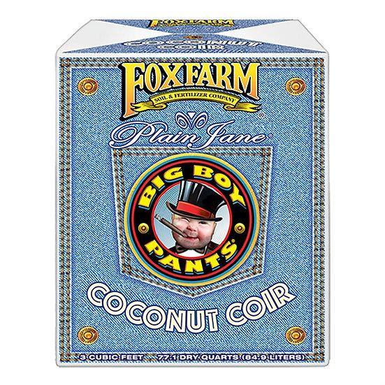 FoxFarm Plain Jane Big Boy Pants Coconut Coir, 3.0 cu ft