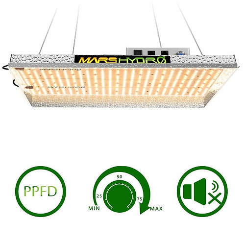 Mars Hydro TSW2000 LED Grow Light With Dimmer