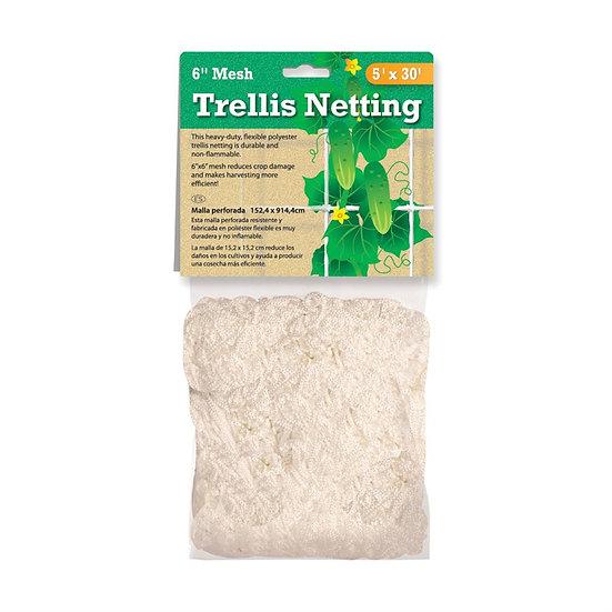 "5x30 Trellis Netting with 6"" mesh"