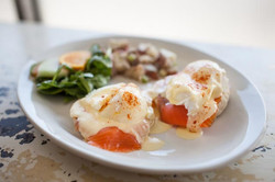 Eggs Benny for Brunch weekends 10-3