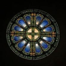 Vassar College Chapel Tiffany Window