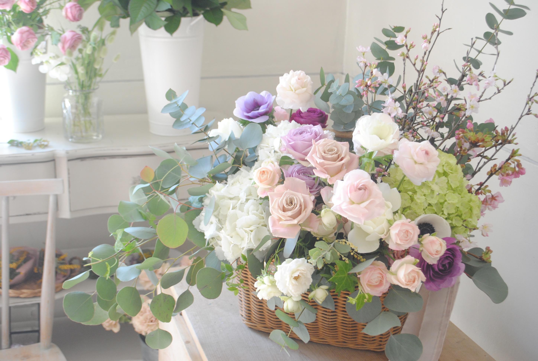 OPEN祝いのお花