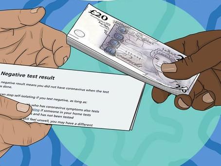'Usei certificado falso de teste de covid-19 para viajar'