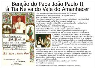 Ben+º+úo do Papa Jo+úo Paulo II