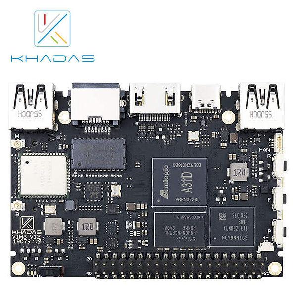 Khadas-vim3-sbc-12nm-amlogic-a311d-soc-c