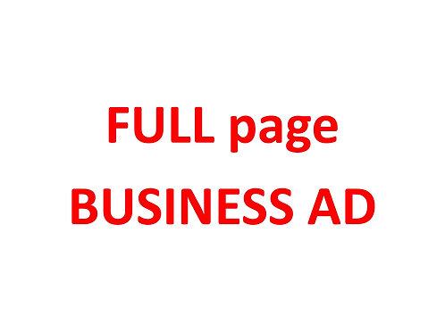Full BUSINESS program ad