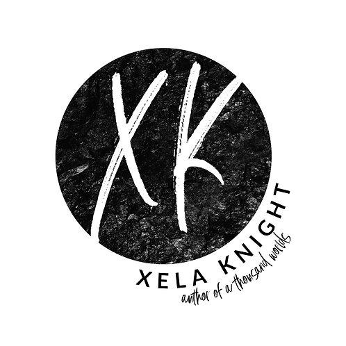 Signed Bookplate (Xela Knight's Signature)