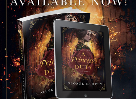 A PRINCESS'S DUTY (OF FIRE AND FROST #1) by SLOANE MURPHY --- A. E. Murphy's author of the d