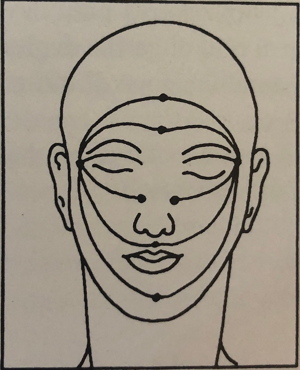 Come massaggiare il viso con olio