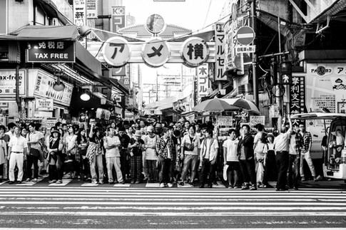 Crossing Tokyo
