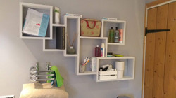 quirky shelves