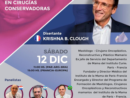 Webinar in Paraguay with Krishna Clough