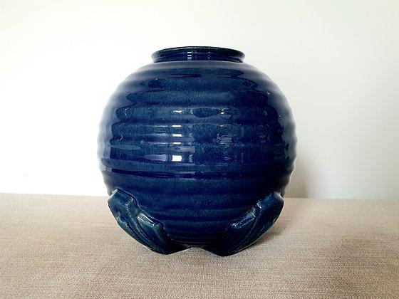 Blue Ceramic Pandora Vase