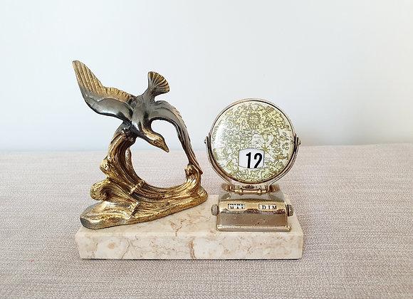 Spelter Bird Perpetual Calendar