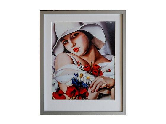 Tamara de Lempicka Framed Print High Summer