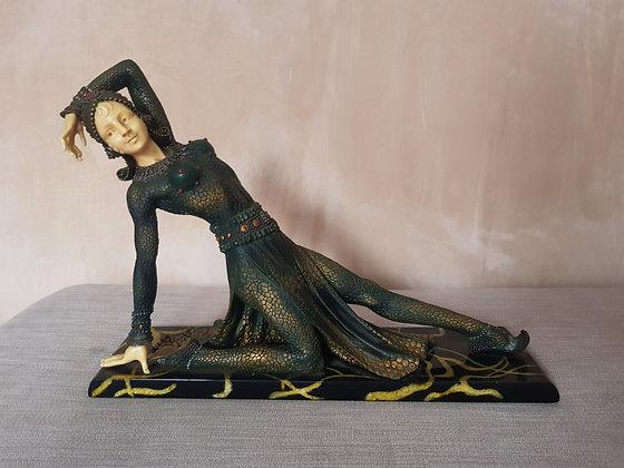 Reproduction Chiparus Style Dancer Figure