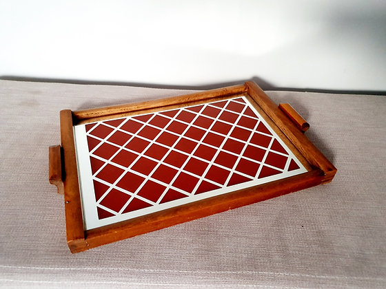 Art Deco Cocktail Drinks Tray