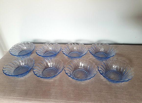Set of 8 Bagley Carnival Bowls