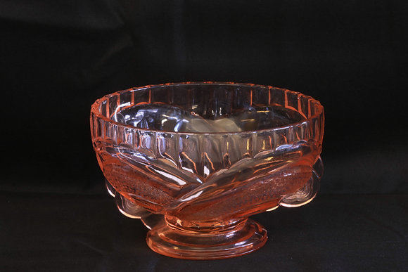 Sowerby Pink Glass Bowl