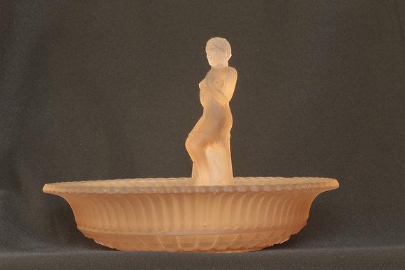 Glass Centrepiece & Bowl
