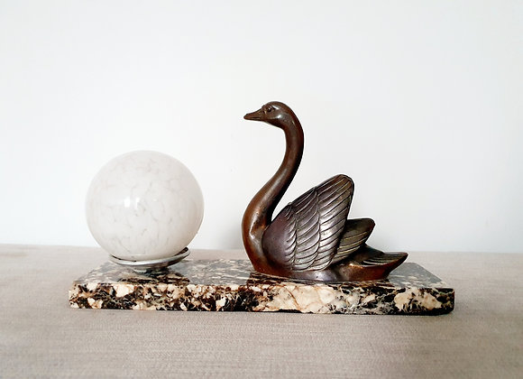 Marcel Leducq Swan Lamp