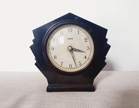 Ferranti Bakelite Clock
