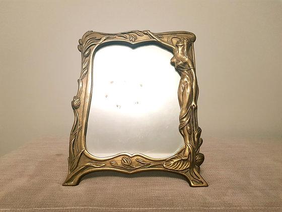 Art Nouveau Freestanding Mirror
