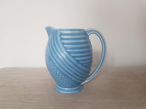 Wade Blue Ceramic Jug