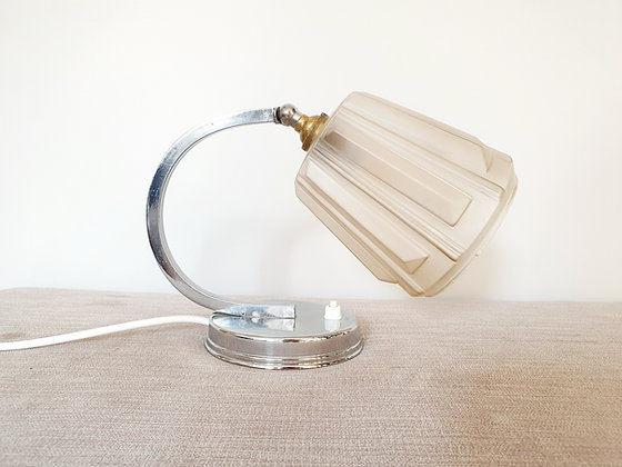 Art Deco Chrome Lamp