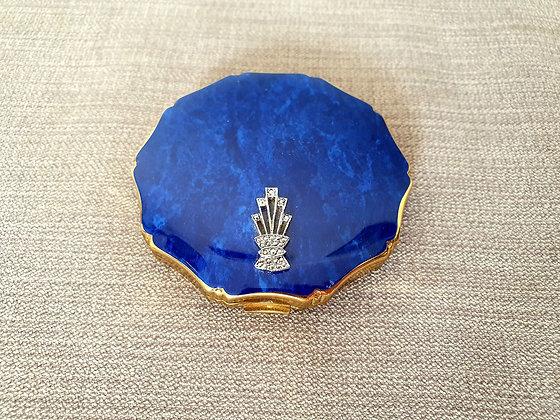 Kigu Blue Enamel Compact