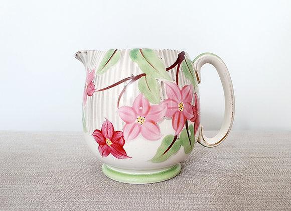 Grays Pottery Floral Jug
