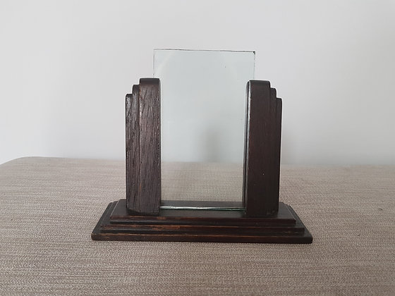 1930s Wooden Photo Frame