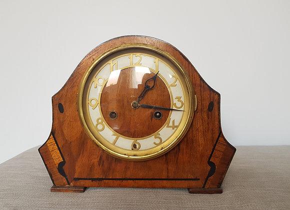 Walnut Mantle Clock