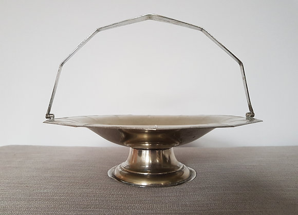 Silver Plated Tazza