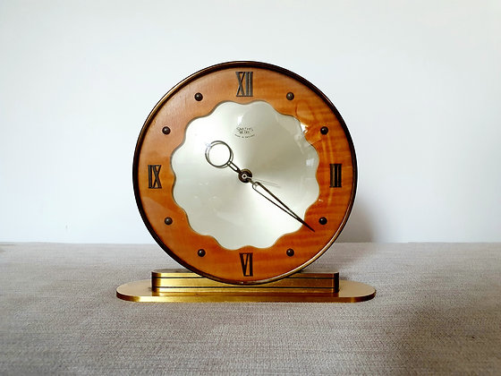 Smiths Sectric Brass Clock