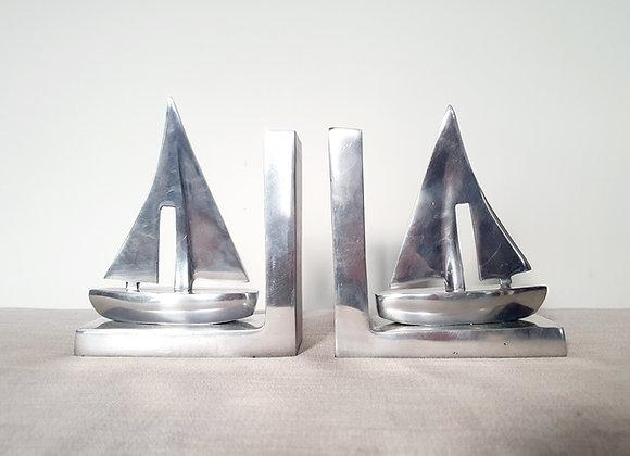Aluminium Yacht Bookends