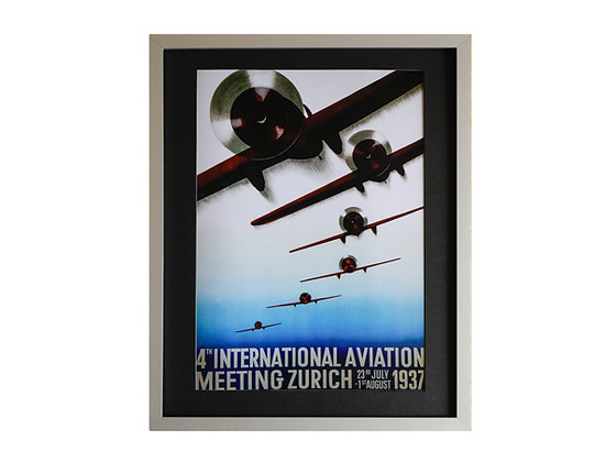 4th International Aviation Meeting Framed Print