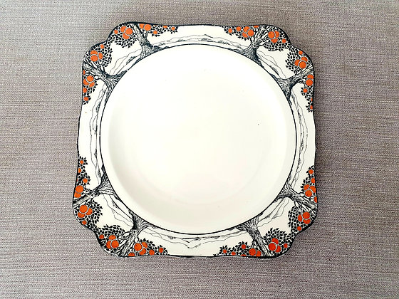 Crown Ducal Orange Tree Plate