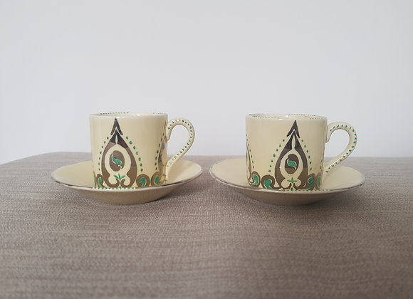 Grindley Pair of Espresso Cups