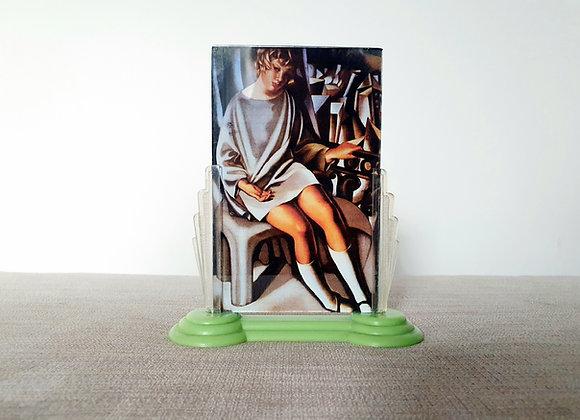 Fan Shaped Plastic Photo Frame