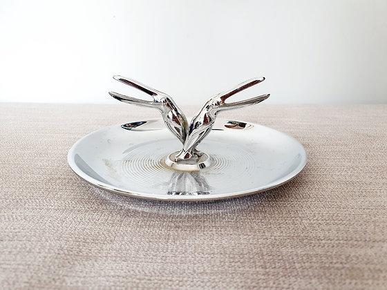 Art Deco Pelican Dish