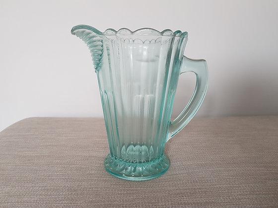 Blue Glass Jug / Pitcher