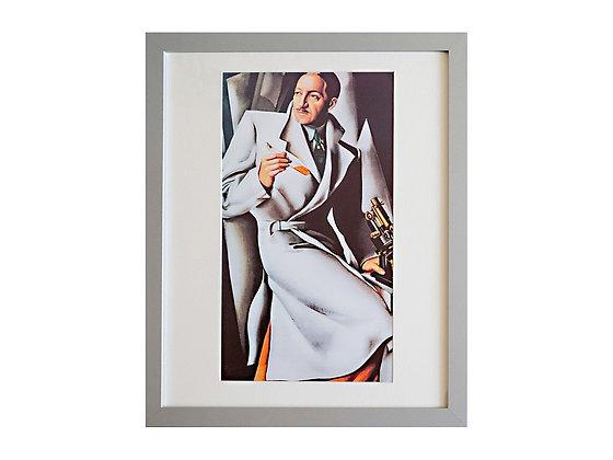 Tamara de Lempicka Framed Print Portrait of Dr Boucard