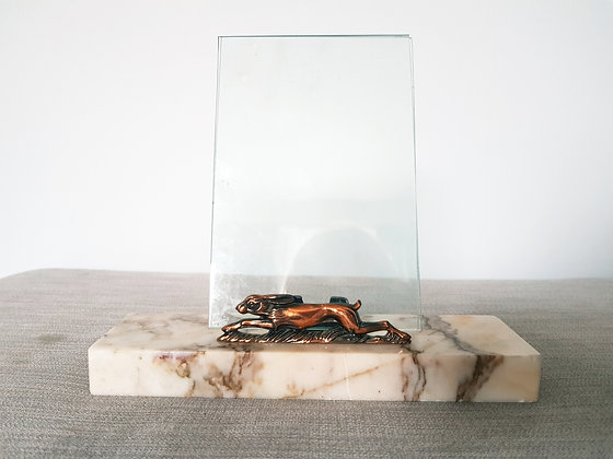 Hare Marble Photo Frame