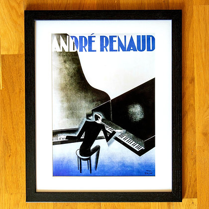 André Renaud Paul Colin Framed Print