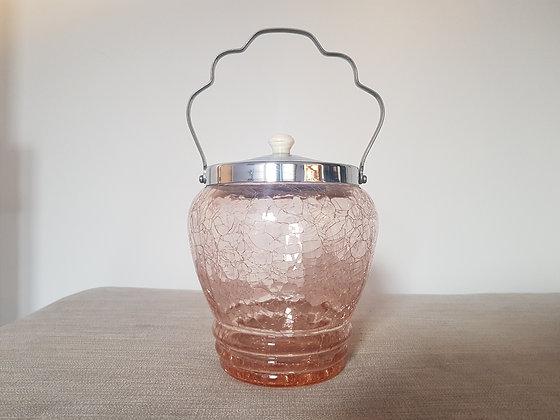 Crackle Glass Barrel