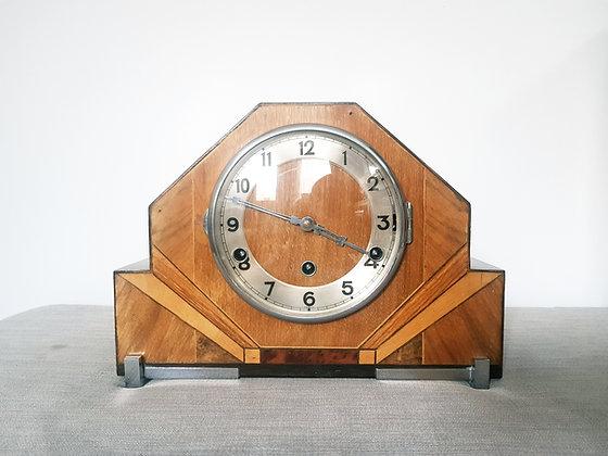 Westminster Chimes Walnut Mantel Clock