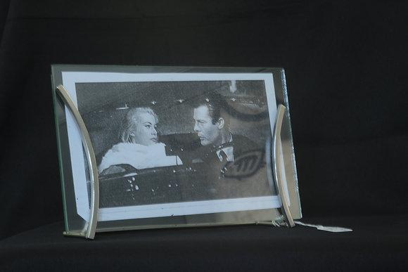 Chrome Photo Frame