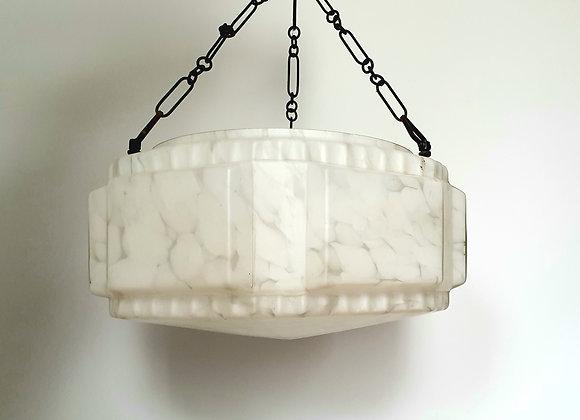 White Hexagonal Ceiling Light Shade