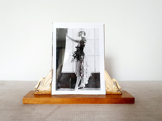 Wooden Swan Photo Frame